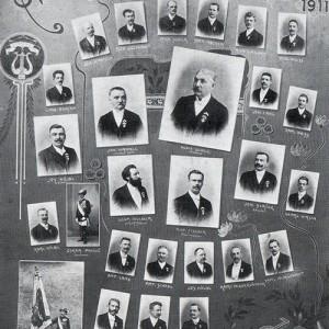 Vereinstafel 1911